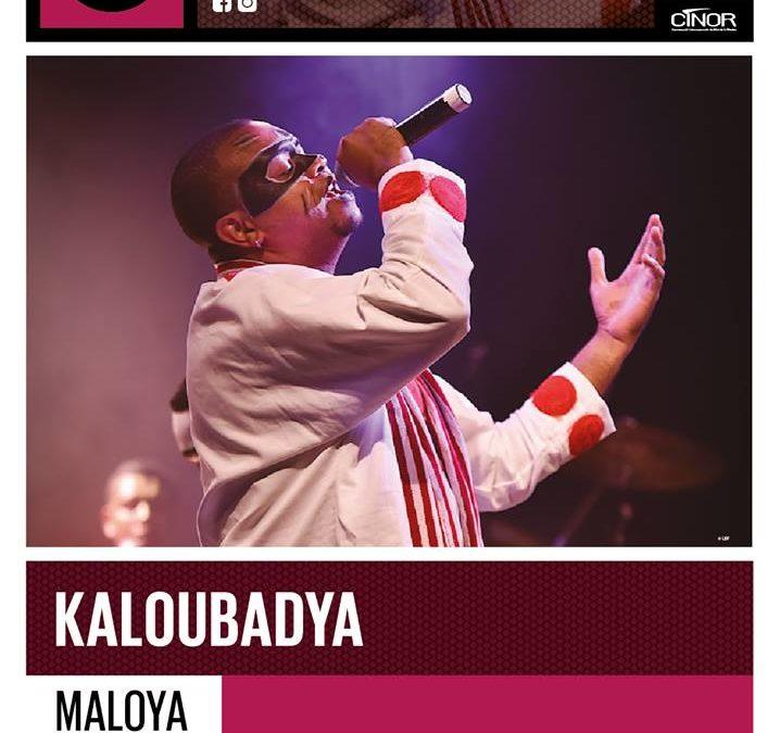 Kaloubadya en concert à la salle Fanal à Sainte-Clotilde le 14 décembre 2018